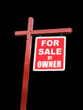 Isolated transparent For Sale sign for home Royalty Free Stock Photo