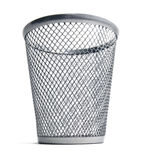 Isolated Trash Bin stock images