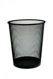 Isolated trash can Stock Photos