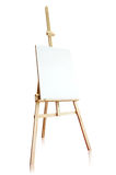 Isolated tripod and canvas. On white background Stock Photo