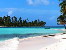 Isolated Tropical Island Stock Image