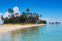 Free Isolated Tropical Island In The Sea Royalty Free Stock Image - 14525816