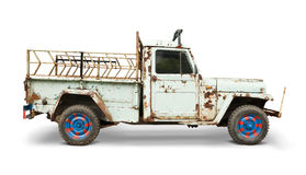 Isolated truck Stock Images