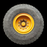 Isolated Truck Tire Stock Photo