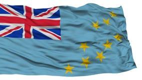Isolated Tuvalu Flag Stock Images