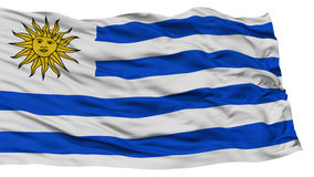 Isolated Uruguay Flag Royalty Free Stock Images