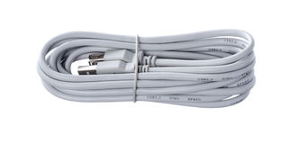 Isolated USB extension cable Stock Photo
