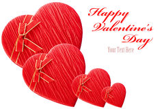 Isolated Valentine's Day Heart Stock Images