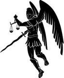 Archangel Judgement Symbol Royalty Free Stock Image