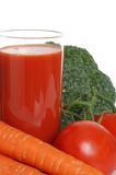 Isolated vegetable juice Royalty Free Stock Image