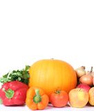 Isolated vegetables Royalty Free Stock Images