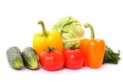 isolated vegetables Стоковое Изображение RF