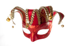 Isolated venetian carnival mask Royalty Free Stock Photography
