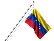 Isolated Venezuelan Flag Stock Image