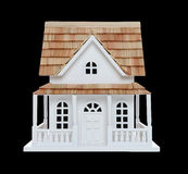 Isolated Victorian House Stock Image