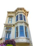 Isolated Victorian Townhouse Royalty Free Stock Images
