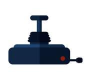 Isolated videogame joystick design Stock Image