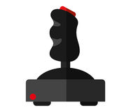 Isolated videogame joystick design Royalty Free Stock Photography