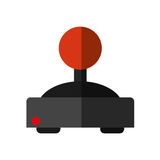 Isolated videogame joystick design Royalty Free Stock Images