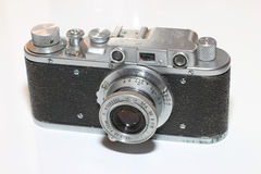 Isolated vintage camera Royalty Free Stock Images