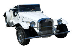 Isolated vintage car Stock Images