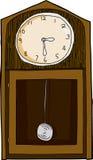 Isolated Vintage Clock Stock Photos