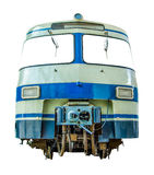 Isolated Vintage Diesel Train Royalty Free Stock Photography