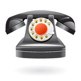 Isolated Vintage Phone Royalty Free Stock Image