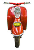 Isolated Vintage Scooter Stock Image