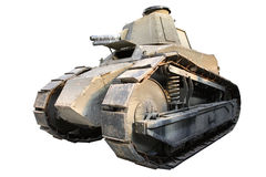 Isolated Vintage Tank Royalty Free Stock Photo