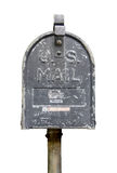 Isolated Vintage US Mail Box Royalty Free Stock Images