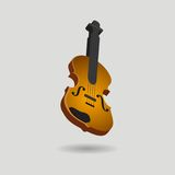 Isolated violin Royalty Free Stock Photos