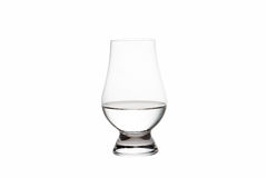 Isolated Vodka in a Crystal Tasting Glass Stock Photos