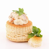 Isolated vol au vent Royalty Free Stock Image