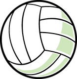 Isolated volleyball Royalty Free Stock Image