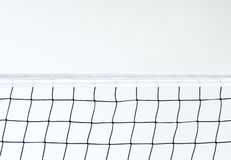 Isolated Volleyball Net on the beach background, Sport Activity in Summer Holiday royalty free stock photo