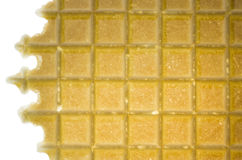 Isolated wafer Royalty Free Stock Photo