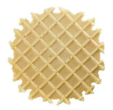 Isolated wafer Royalty Free Stock Image