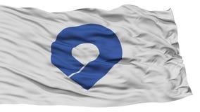 Isolated Wakayama Japan Prefecture Flag Stock Photography