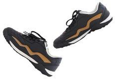 Isolated walking shoes Stock Photo