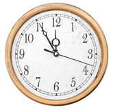 Isolated wall clocks stock image