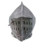 Isolated Warriors Helmet Stock Image