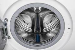 Isolated washing machine on a white background Stock Photos