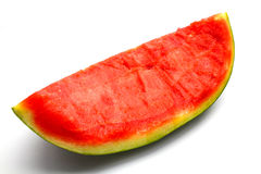 Water melon. An isolated water melon on white background Stock Photo