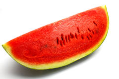 Water melon. An isolated water melon on white background Royalty Free Stock Photos