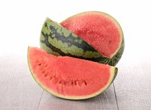 Isolated watermelon Stock Image