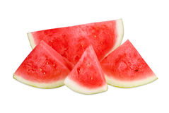 Isolated Watermelon. Fresh and juicy red watermelon Stock Photo