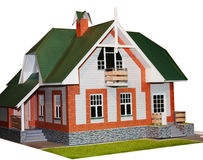 Isolated weekend house Royalty Free Stock Photography