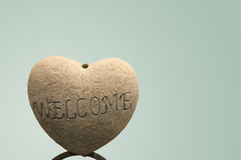 Isolated Welcome Sign Stock Image