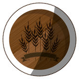 Isolated wheat ear design Royalty Free Stock Image